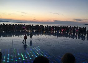 Private sunset tour to Zadar and Sea Organ from Primošten