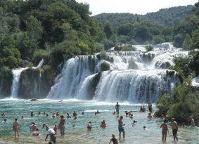 Private Tour to Krka Waterfalls and Šibenik from Primosten