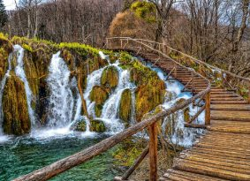 plitvice national park Croatia from Primosten